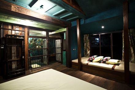 The Green Room | Loy La Long Hotel | Bangkok http://travelbangkok101.com/green-room-loy-la-long/