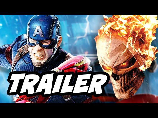 Agents Of SHIELD Season 4 Episode 1 Ghost Rider Trailer And Captain America Easter Eggs - Video --> http://www.comics2film.com/agents-of-shield-season-4-episode-1-ghost-rider-trailer-and-captain-america-easter-eggs/  #AgentsofS.H.I.E.L.D.