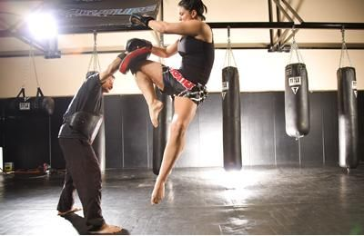 Three Things Every Woman Can Learn From Gina Carano's Workout