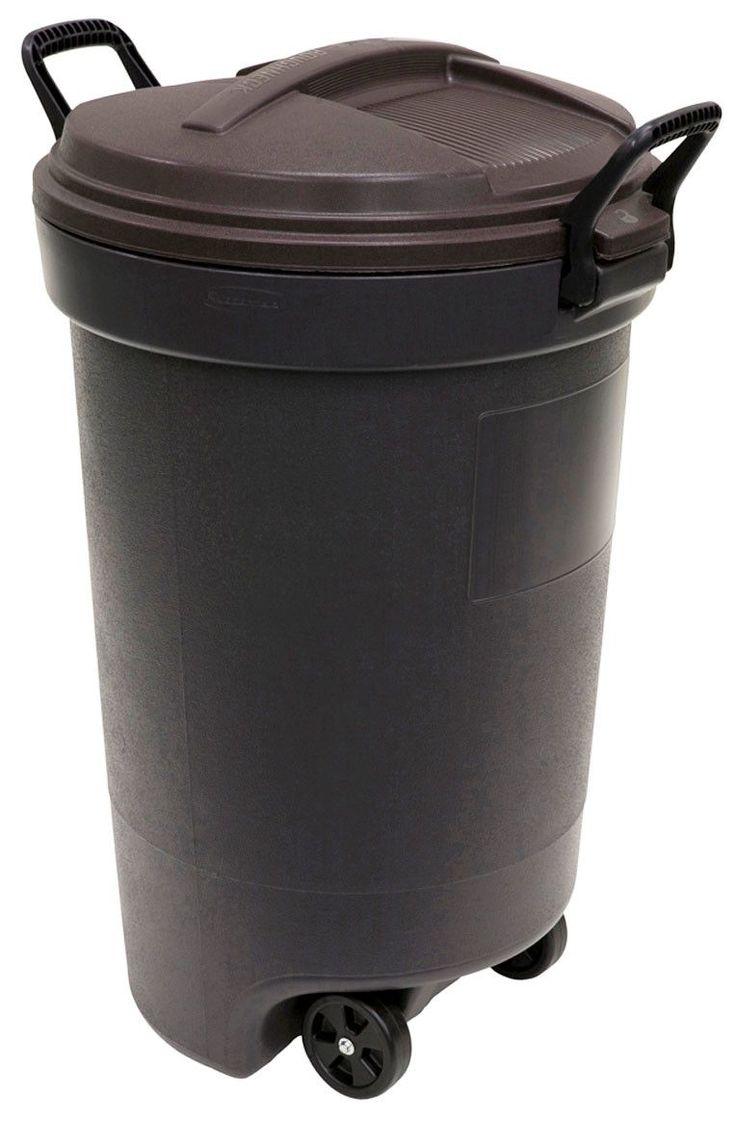 32 Gallon Rubbermaid Wheeled Trash Can