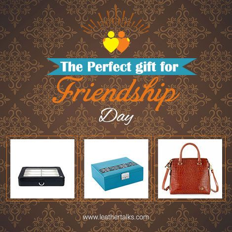 Friendship day in on the 7th of August. It is the right time to purchase gifts for your friends. Shop today at www.leathertalks.com