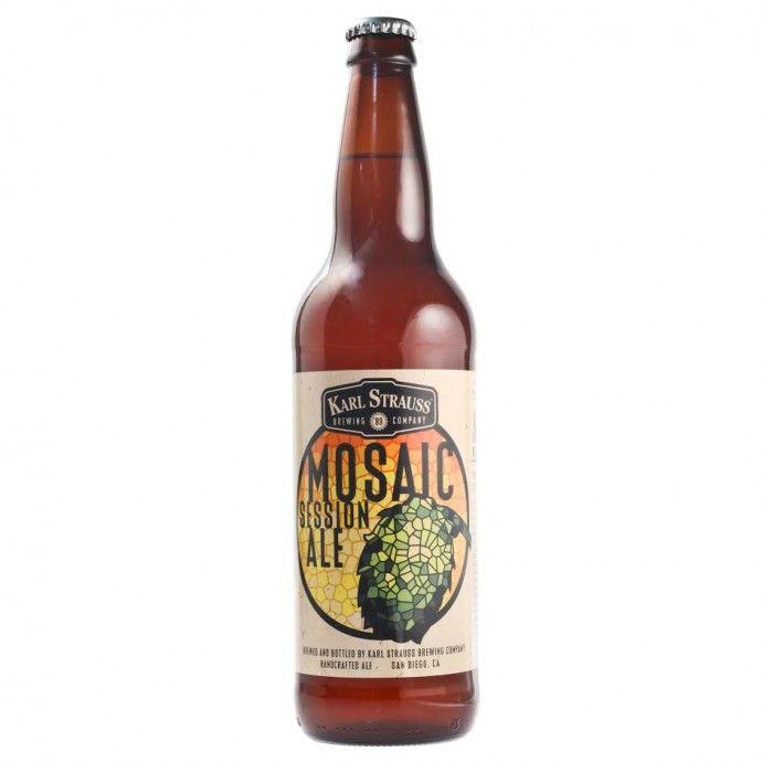 Karl Strauss Mosaic Session Ale Returns Year Round