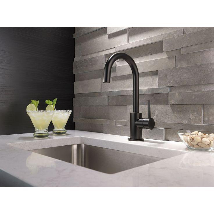 Single-Handle Single-Hole Bar/Prep - Kitchen Faucet / Matte Black / 1959LF-BL
