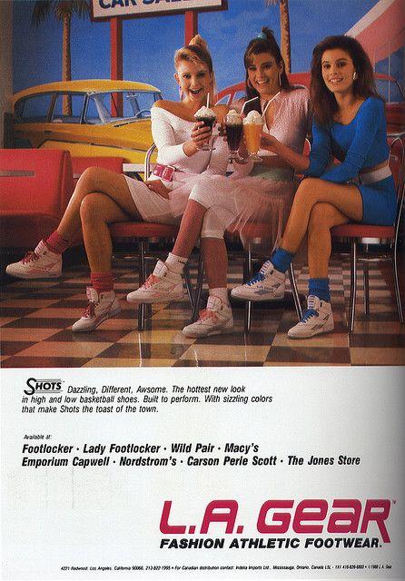 LA Gear Shoes..yep had these too!
