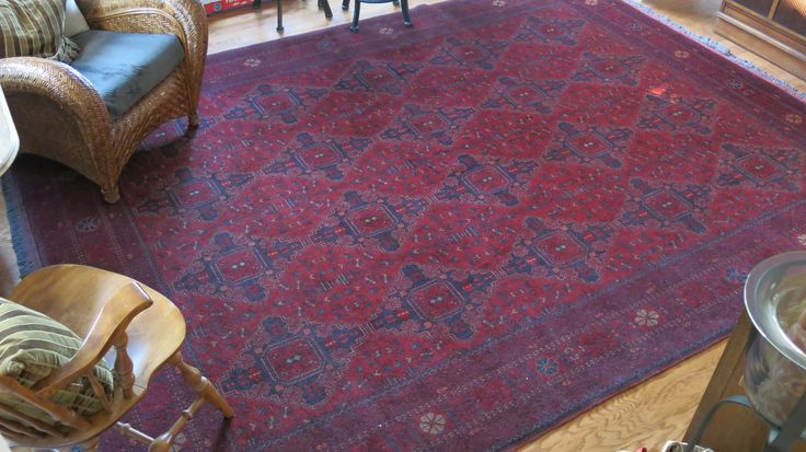 Khal Mohammadi rug, Tribal designs, hand made in northern Afghanistan.