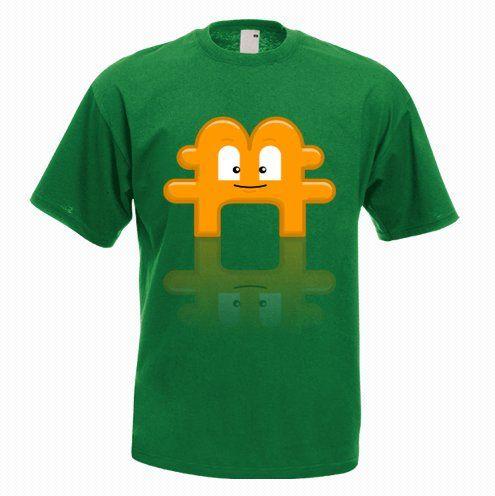 Bitcoin Mascot Tshirt - http://goo.gl/jLMiJW