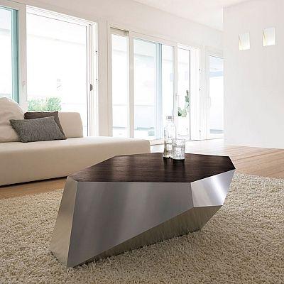 Contemporary coffee table Diamante by Antonello