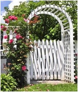 Free DIY Arbor and Trellis Plans - If you're thinking about building a new arbor, trellis or arbor gate, check out this list of free, do it yourself project plans and how-to guides.