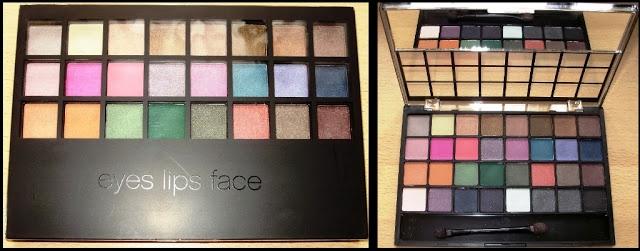 Fashion Picnic: Paletka očních stínů e.l.f. brights - recenze