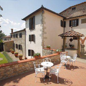 Toskana: Romantisches Hotel Relais Vignale - Radda in Chianti, Italien