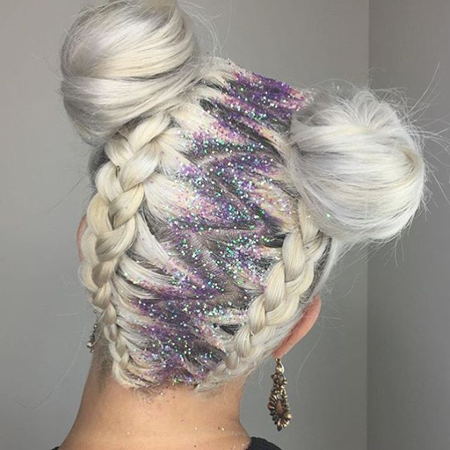 I want this Galactic holographic unicorn style on my head