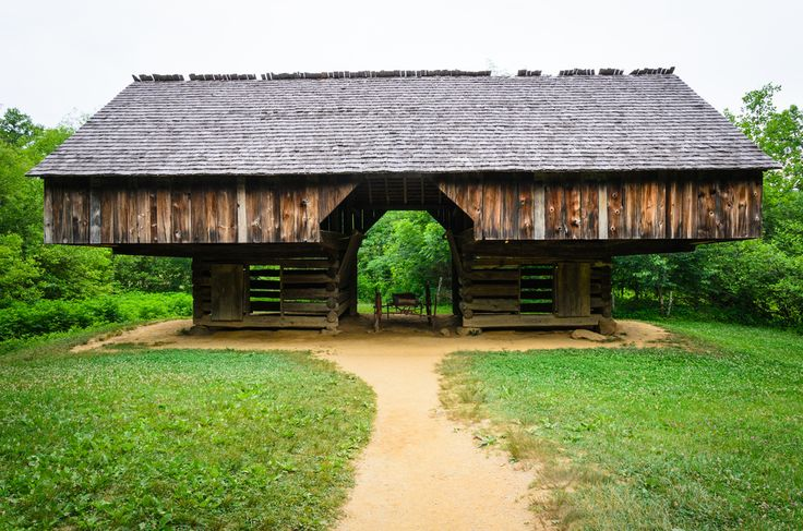 You will find this historic barn along the 11 mile loop in Cades Cove, Tennessee.