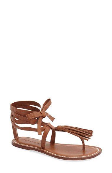 Free shipping and returns on Bernardo 'Mosie' Tassel Sandal (Women) at  Nordstrom
