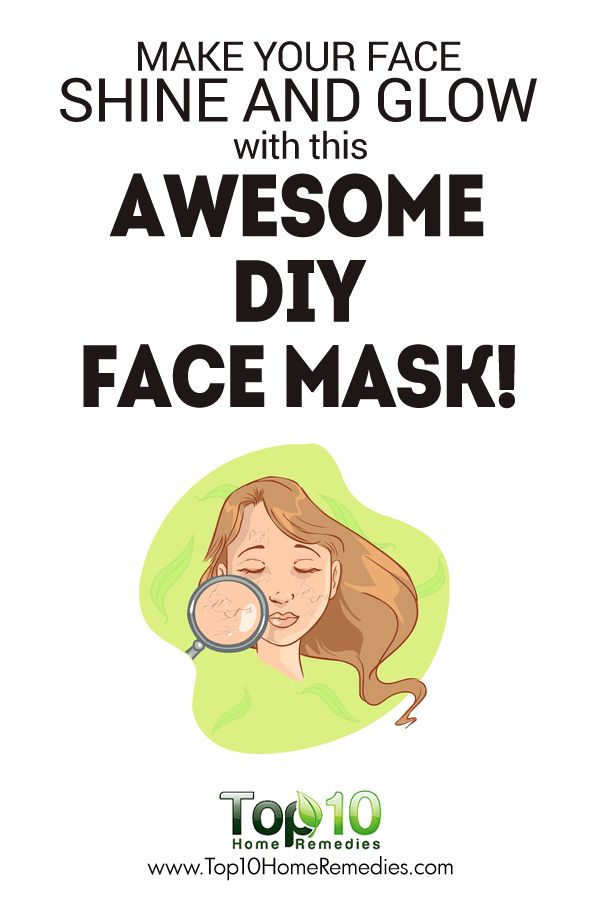Tighten Your Facial Skin, Reduce Blemishes and Age Spots, Add a Youthful Glow to Your Skin with this Awesome DIY Face Mask!