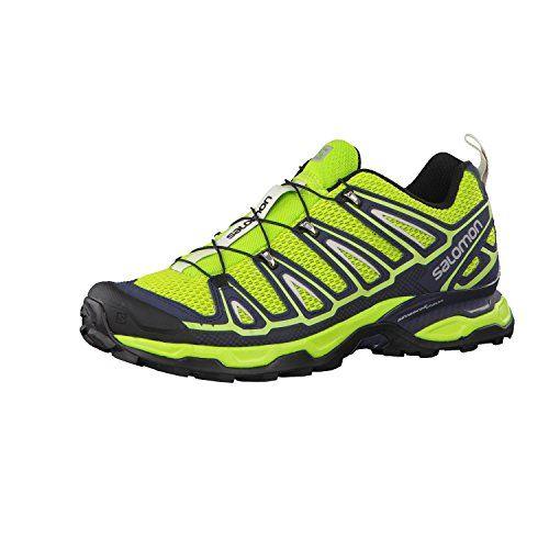 Salomon Herren Hiking Schuhe X Ultra 2 Granny Green/Deep Blue/Green Glow 41 1/3 - http://on-line-kaufen.de/salomon/41-1-3-eu-salomon-x-ultra-2-herren-trekking-6