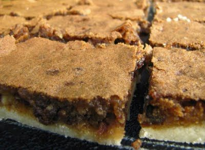 Mennonite Girls Can Cook: Butter Tart Squares - My hubby would love me to make some of these for on the field!