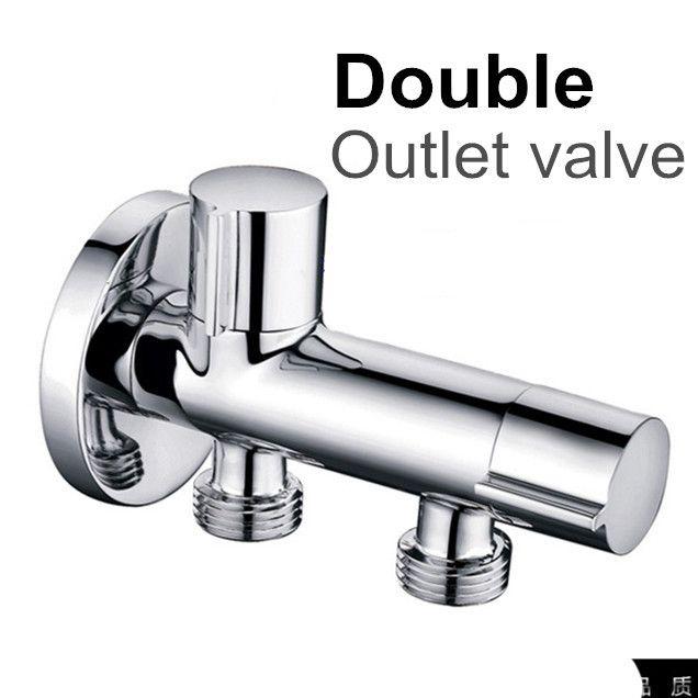 Латунь кухня аксессуары для ванной комнаты на выходе угловой для душ / туалет / / бассейна / водонагреватель угол клапаны
