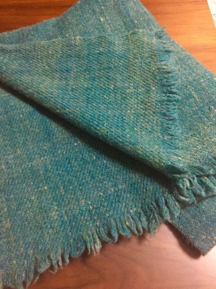 ゴッドランドメリノ Gotland merino wool  Hand spinning  Hand Weaving