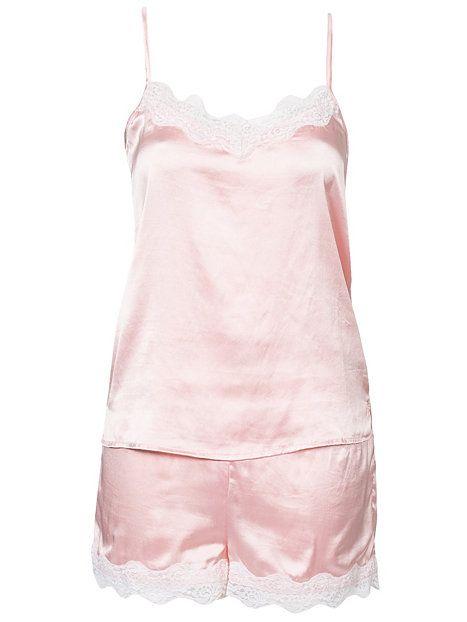 Price Cindy Night Set - Rut&Circle - Rosa - Sovplagg - Underkläder - Kvinna - Nelly.com