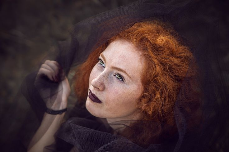 """redhead-pictures: """"Flight of the black birds by DarkVenusPersephonae Posted by redhead.pictures """""""