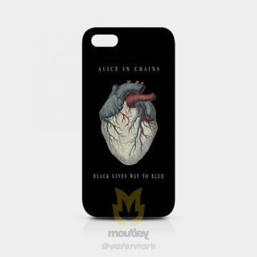 Alice In Chains Black Gives Way To Blue IPhone 5/5S Hardcase by moutley for $14.00