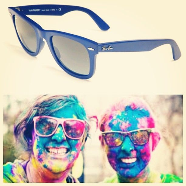 Get ready for #ColorRun with these awesome #RayBans by Outbidding others. http://www.outbid.com/auctions/7667-celebrating-the-color-run