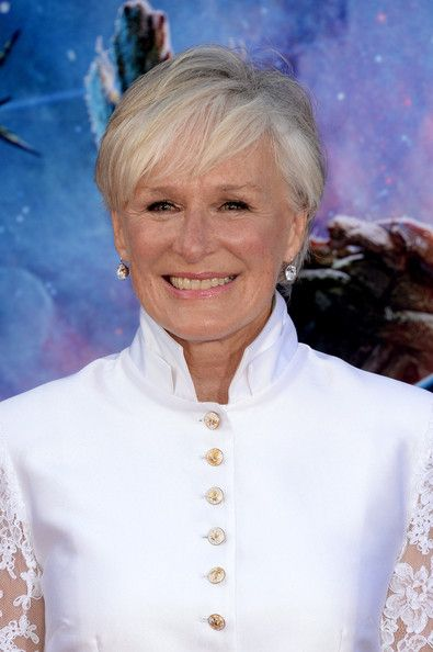 Glenn Close Short Cut With Bangs Bobs Of The Galaxy And