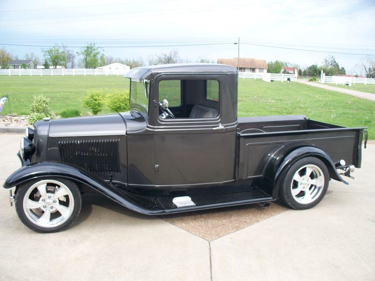 Old Ford Pickup | Classic Cars - 1934 Ford Truck
