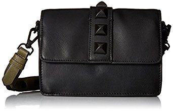 Steve Madden Nahla Cross Body Handbag,Black by Steve Madden for $54.99 http://amzn.to/2gKKIik