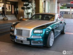 Rolls-Royce Mansory Wraith 3