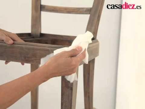 Cómo restaurar una silla    Vídeo
