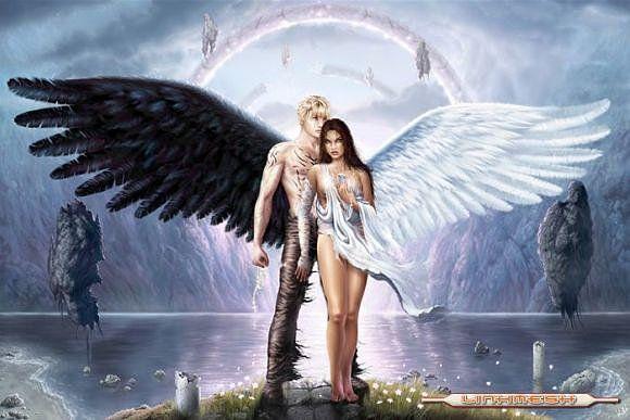 Y era el demonio de mi sueño, el angel