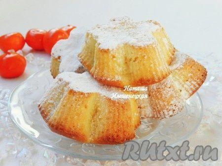 Творожные кексы - очень вкусные, мягкие, пышные. В качестве добавки в творожные кексы можно добавить различные фрукты или сухофрукты. Сейчас сезон цитрусовых, поэтому предлагаю приготовить творожные кексы с мандаринами. Чаще всего я готовлю творожные кексы в формочках: в металлических или ...