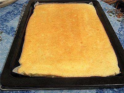 Тесто для рулета по ГОСТу ( не ломается, не крошится)