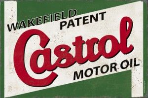 Castrol Motor Oil Tin Sign $50