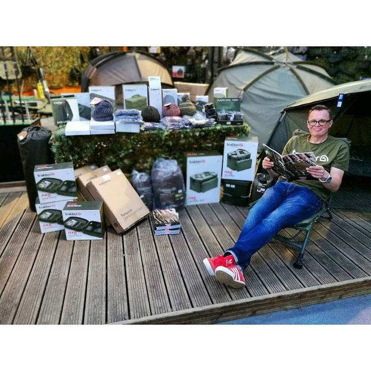 "At the Trakker open day at Fishing Republic Crewe! Here is the one and only Jon ""shoes"" Jones demonstrating all things Trakker... Pop in to the store for more information!  #FishingRepublic #trakker #jonjones #fishing #fishingday #fishingtrip #fishinglife #angling #anglinglife #anglingday #angler #crewe #openday #competition #raffle #fishingtackle #2016 #UK"