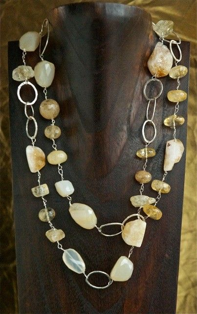 rough stones+ silver  | Stacey Smith