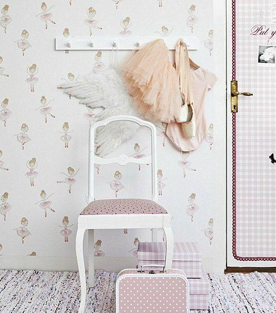 Las 25 mejores ideas sobre papel pintado juvenil en - Papel pintado para habitacion de nina ...