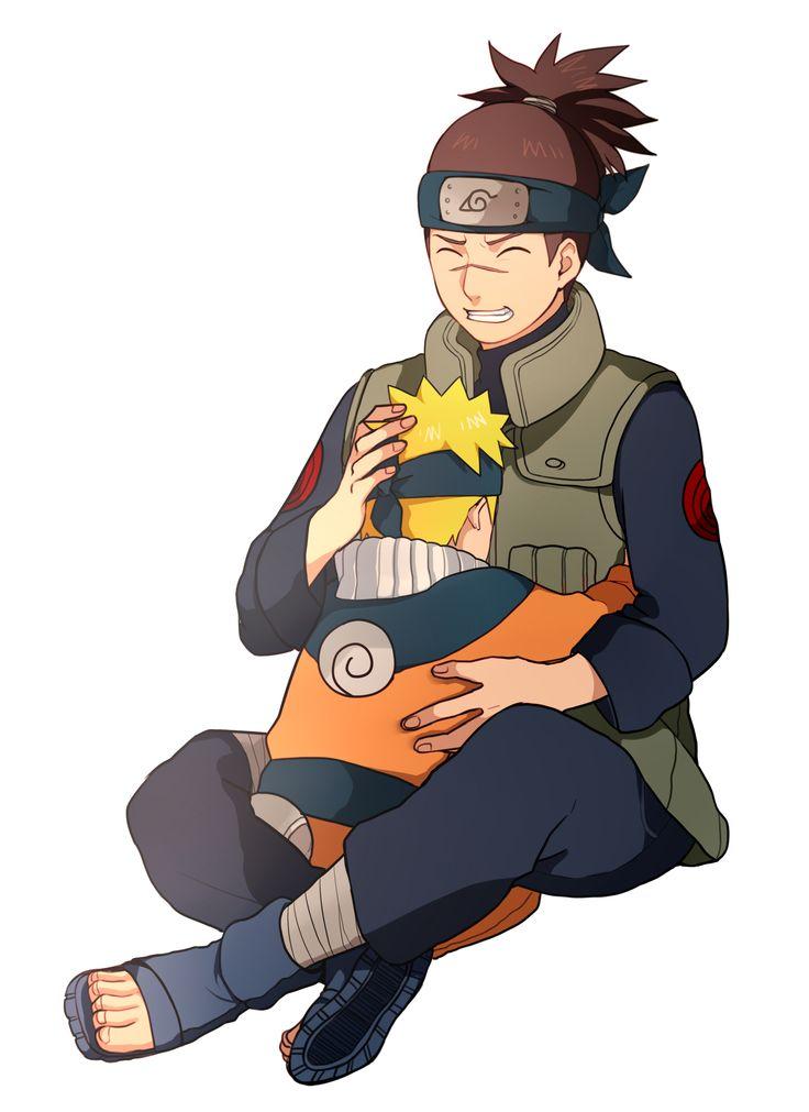 Tags: NARUTO, Uzumaki Naruto, Umino Iruka, PNG Conversion ...