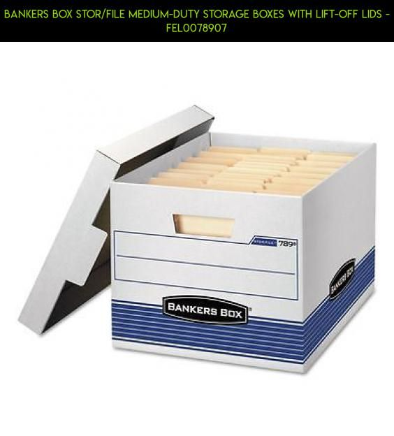 Bankers Box Stor/File Medium-Duty Storage Boxes With Lift-Off Lids - FEL0078907 #boxes #camera #file #drone #products #technology #racing #shopping #tech #storage #parts #plans #fpv #gadgets #kit