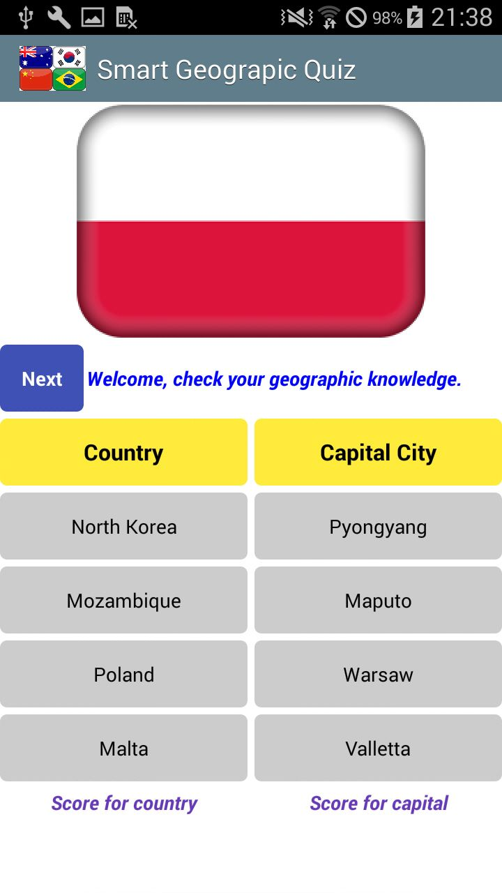 """Get this #app from #googlePlay """"https://goo.gl/RN6Vii""""  Yesterday's answer is """"#Macedonia"""" and """"#Skopje""""  Guess what?  #SmartQuizDIY #DailyQuiz #flag #country #capital #flagGame #countryGame #capitalGame #DailyGeoGame #DailyGame #GeoGame #AndroidGame"""
