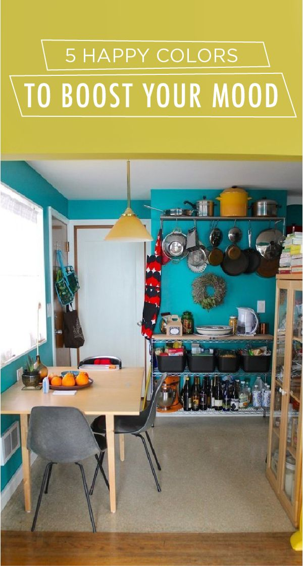 Five Happy Colors To Boost Your Mood Colorful Rooms And