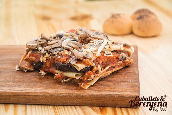 #LasagnaCaballeteSpeciale #EggplantLasagna #Vegan Uno de los platos que nos han dado a conocer en la comunidad vegetariana y vegana de Bogota