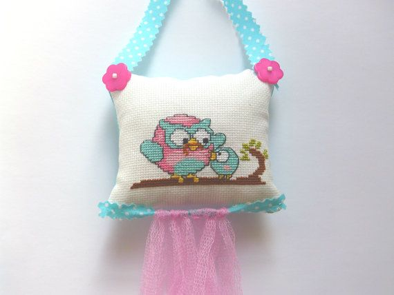 Embroidery owls Beautifully decorate the by CrossStitchElizabeth