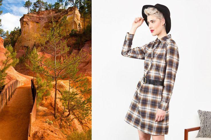 Collection Stella Forest Automne Hiver 2016 Stella Curry & Ocre #stellaforest #stellacurryetocre #curry #ocre #terre #fallwintercollection #fashion #mode #paysage #landskape #autumn