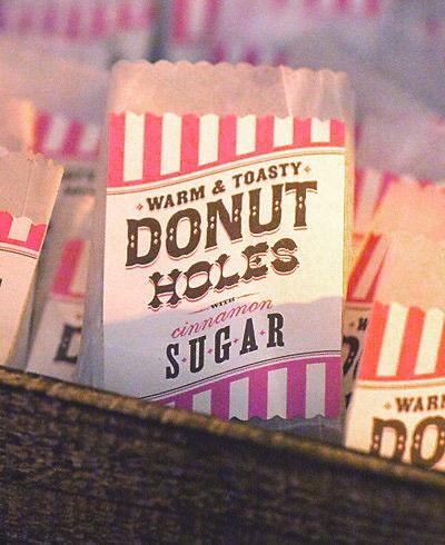 DIY - Donut Hole Bag Label + Instruction - Free PDF Printable