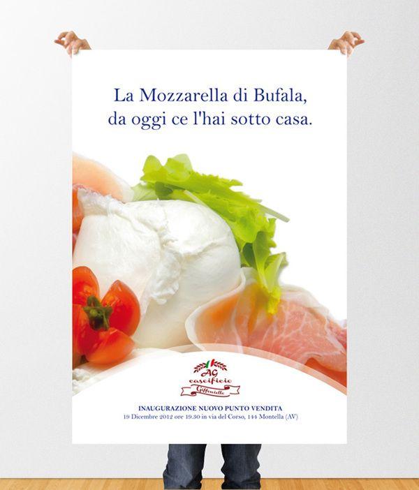 Campagna pubblicitaria per il lancio di un nuovo prodotto (la mozzarella di bufala) con l'apertura di un nuovo punto vendita situato in una zona della Campania dove di norma non si produce mozzarella di bufala.