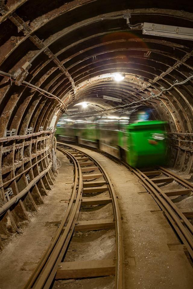London Mail Rail tunnel