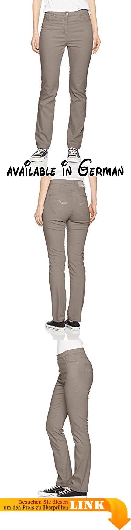 Raphaela by Brax Damen Skinny Jeans Ina Fame (Super Slim), Beige (Taupe 53), W40/L30 (Herstellergröße: 50K). Super Dynamic: Superschlanke Five-Pocket-Jeans in hochelastischer Qualität. Super Dynamic, extrem hohe Elastizität, Haut und Tragefreundlich, besonders gute Rücksprungswerte #Apparel #PANTS
