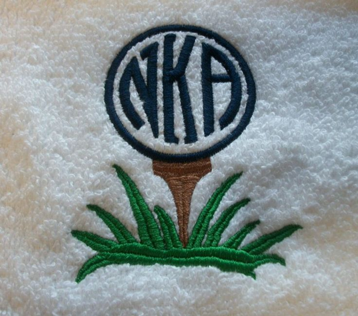 Golf Towel - Monogram golf ball - Fun useful gift embroidered personalized by 3starmilitarymom on Etsy https://www.etsy.com/listing/172576749/golf-towel-monogram-golf-ball-fun-useful